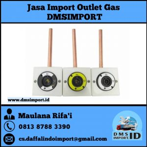 jasa import outlet gas